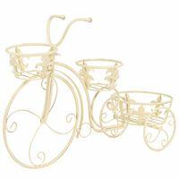 vidaXL Plant Stand Bicycle Shape Vintage Style Metal