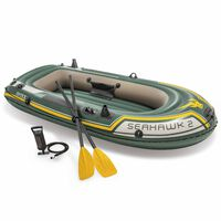 Intex Seahawk 2 Set Inflatable Boat with Oars and Pump 68347NP