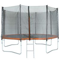 TRIGANO Trampoline with Safety Net 427 cm