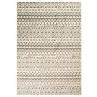 vidaXL Modern Rug Traditional Design 80x150 cm Beige/Grey