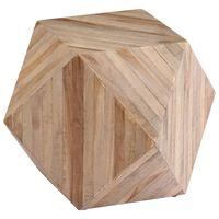 vidaXL Side Table Reclaimed Teak 40x40x40 cm