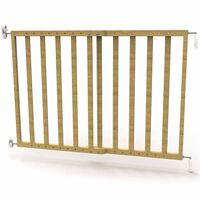 Noma Extending Safety Gate 63.5-106 cm Wood Natural 93729