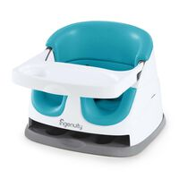 Ingenuity Baby Base 2-in-1 Booster Seat Peacock Blue