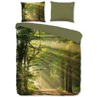 Good Morning Duvet Cover WOODS 200x200 cm Green