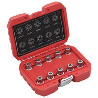 vidaXL 10 Piece Locking Wheel Nut Key Set for BMW