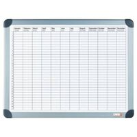 DESQ Magnetic Year Planner 60x90 cm White
