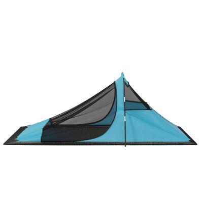 vidaXL Camping Tent 317x240x100 cm Blue