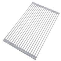 Seastán Coaster / Draein Don Doirteal 52x33 Cm Silicone Grey