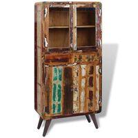 vidaXL Cupboard Solid Reclaimed Wood 90x40x190 cm