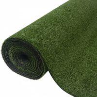vidaXL Artificial Grass 7/9 mm 1.33x5 m Green
