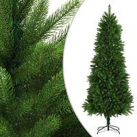 vidaXL Artificial Christmas Tree Lifelike Needles 240 cm Green