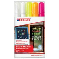 edding Chalk Marker 5pcs Multicolour 4095