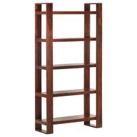 vidaXL Book Cabinet Honey Brown 85x30x166 cm Solid Acacia Wood
