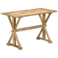 vidaXL Dining Table 140x70x76 cm Solid Mango Wood