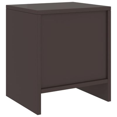 vidaXL Bedside Cabinets 2 pcs Dark Brown 35x30x40 cm Solid Pinewood