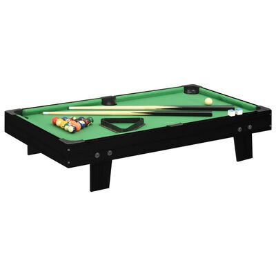 vidaXL 3 Feet Mini Pool Table 92x52x19 cm Black and Green