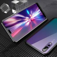 Magnetic Case for Huawei P20 Pro Double-sided Black