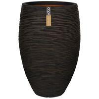 Capi Vase Nature Rib Elegant Deluxe 40x60 cm Brown KOFB1131