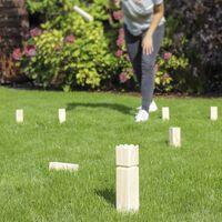 HI Outdoor Wooden Kubb Game