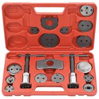 vidaXL 18 Pieces Disc Brake Caliper Wind Back Tool Kit