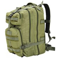 vidaXL Army-Style Backpack 50 L Olive Green
