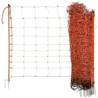 Neutral Electrifiable Sheep Net OviNet 108cm Orange