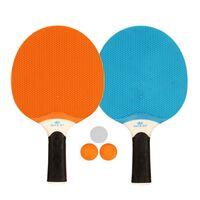 Get & Go Outdoor Table Tennis Set Blue/Orange/Light Grey 61UP