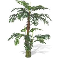 vidaXL Artificial Plant Cycas Palm Tree 150 cm