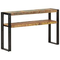 vidaXL Console Table 120x30x75 cm Solid Reclaimed Wood