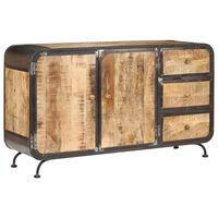 vidaXL Sideboard 140x40x80 cm Solid Mango Wood