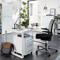 Germania Rolling Filling Cabinet GW-Monteria White
