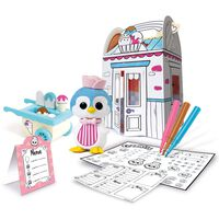 Fuzzikins Craft & Play Set Fuzzi Street Ice Cream Parlour