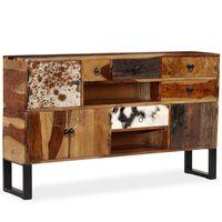 vidaXL Sideboard Solid Sheesham Wood 140x30x80 cm