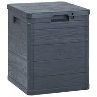 vidaXL Garden Storage Box 90 L Anthracite