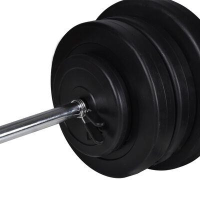 Barbell + 2 Dumbbell Set 60.5kg