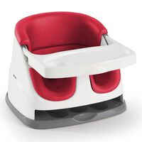Ingenuity Baby Base 2-in-1 Booster Seat Poppy Red