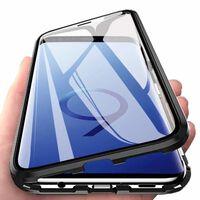 Cás Samsung Galaxy S9 Le Cosantóir Scáileáin Dubh