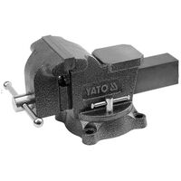 YATO Bench Vice Swivel Base 125mm
