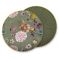 Descanso Decorative Pillow PARMA 55x55 cm Olive