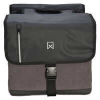 Willex Double Business Bag 46 L Black and Grey