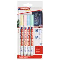 edding Chalk Marker 4pcs Multicolour 4085