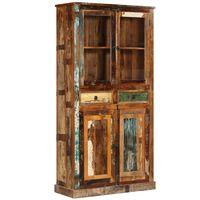 vidaXL Sideboard Reclaimed Wood 95x39x185 cm