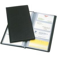 Esselte Folder for Business Cards Black