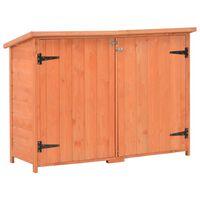 vidaXL Garden Storage Shed 120x50x91 cm Wood