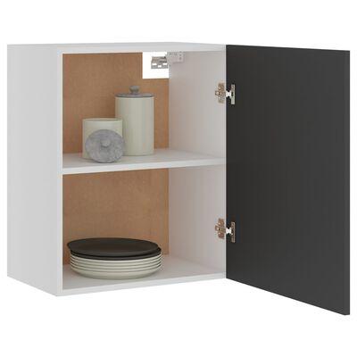 vidaXL Hanging Cabinets 2 pcs Grey 50x31x60 cm Chipboard
