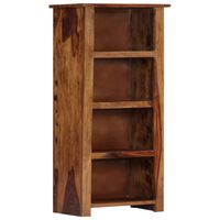 vidaXL Bookshelf 50x30x100 cm Solid Sheesham Wood