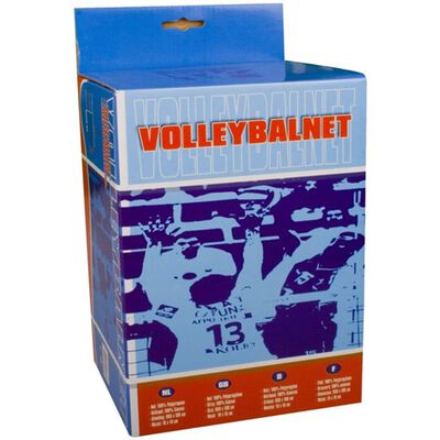 Avento Volleyball Net 9.5 x 1 m Black 16NE,