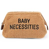 CHILDHOME Toiletry Bag Baby Necessities Teddy Beige