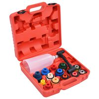 vidaXL 16 Piece Engine Oil Filler Set