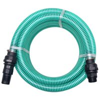vidaXL Suction Hose with Connectors 10 m 22 mm Green